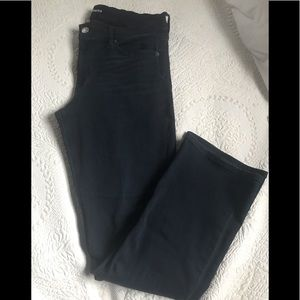 Dark wash barely boot midrise jeans NWOT